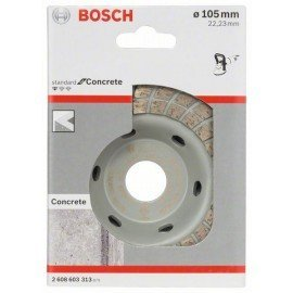 Bosch Standard for Concrete Turbo gyémánt fazékkorong 105 x 22,23 x 3 mm