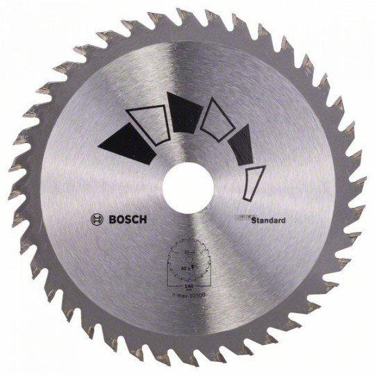 Bosch STANDARD körfűrészlap D= 140 mm; Furat= 20 mm; Z= 40
