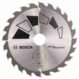 Bosch STANDARD körfűrészlap D= 190 mm; Furat= 30 mm; Z= 24