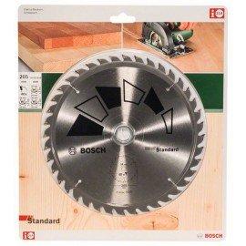 Bosch STANDARD körfűrészlap D= 205 mm; Furat= 24/20 mm; Z= 40