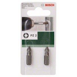 Bosch Standard PZ csavarozóbit Pozidriv Pz 2 kereszthorony