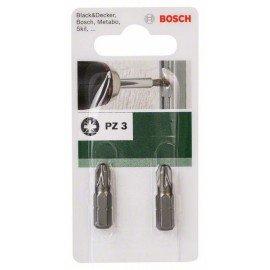 Bosch Standard PZ csavarozóbit Pozidriv Pz 3 kereszthorony