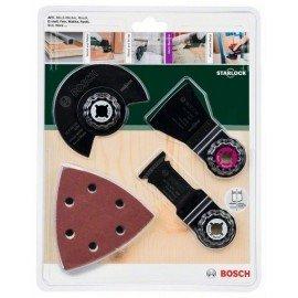 Bosch Starlock 13 részes univerzális készlet ACZ 85 EB (1x); AIZ 32 APB (1x); ATZ 52 SFC (1x); Wood & Metal csiszolólap (10x)