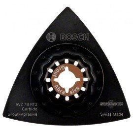 Bosch Starlock Carbide-RIFF AVZ 78 RT2 csiszolótalp 78 mm