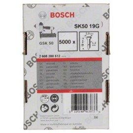Bosch Süllyesztett fejű csap, SK50 19G 1,2 mm, 19 mm, horganyzott