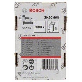 Bosch Süllyesztett fejű csap, SK50 50G 1,2 mm, 50 mm, horganyzott