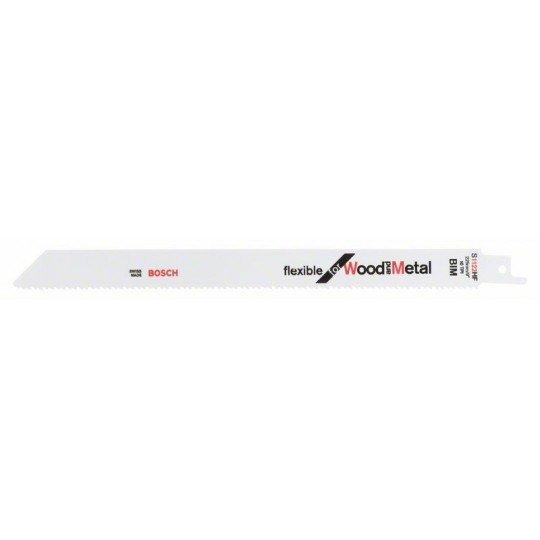Bosch Szablyafűrészlap, S 1122 HF Flexible for Wood and Metal