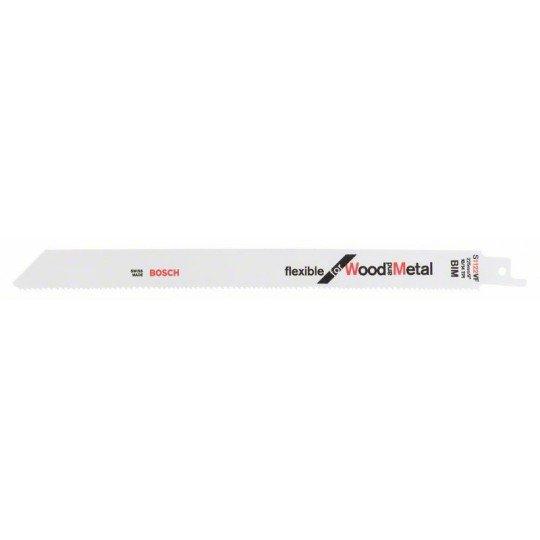 Bosch Szablyafűrészlap S 1122 VF Flexible for Wood and Metal
