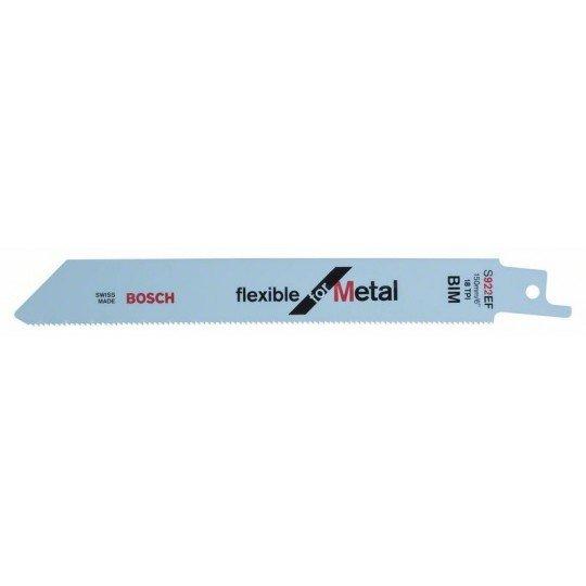 Bosch Szablyafűrészlap, S 922 EF Flexible for Metal