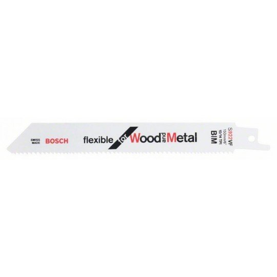Bosch Szablyafűrészlap S 922 VF Flexible for Wood and Metal