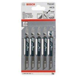 Bosch Szúrófűrészlap T 111 C Basic for Wood