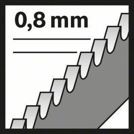 Bosch Szúrófűrészlap, T 121 GF Speed for Metal