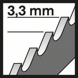 Bosch Szúrófűrészlap T 301 CHM Clean for Solid Surface