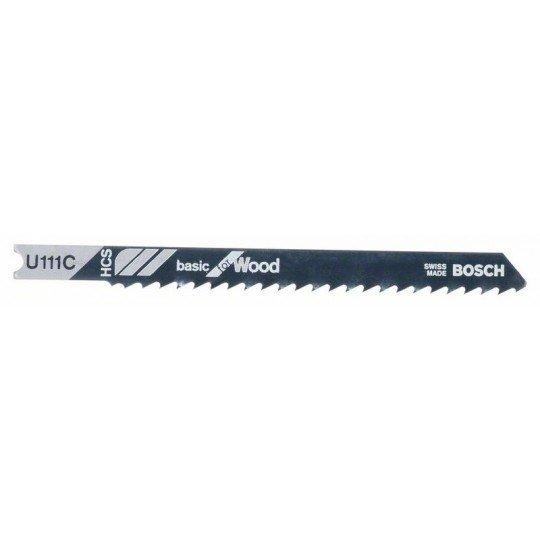 Bosch Szúrófűrészlap U 111 C Basic for Wood