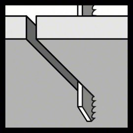 Bosch T 302 H szúrófűrészlap Clean for PVC