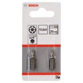 Bosch T15H Security-Torx® csavarozó bit, extra kemény T15H, 25 mm