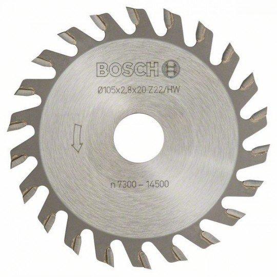 Bosch Tárcsamaró 22, 20 mm, 2,8 mm