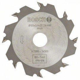 Bosch Tárcsamaró 8, 20 mm, 4 mm