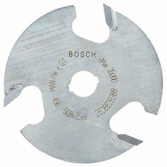 Bosch Tárcsás horonymaró 8 mm, D1 50,8 mm, L 2,5 mm, G 8 mm
