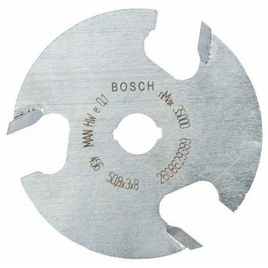 Bosch Tárcsás horonymaró 8 mm, D1 50,8 mm, L 3 mm, G 8 mm