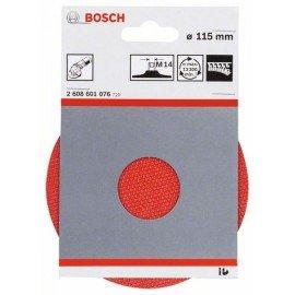 Bosch Tépőzáras csiszolótányér 115 mm, 13 300 ford/perc