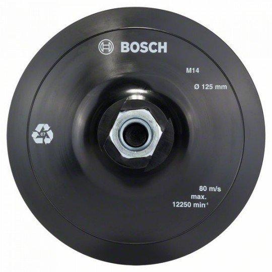 Bosch Tépőzáras csiszolótányér 125 mm, 12 500 ford/perc