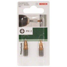 Bosch Titanium PH csavarozóbit Phillips Ph 2 kereszthorony