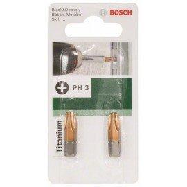 Bosch Titanium PH csavarozóbit Phillips Ph 3 kereszthorony