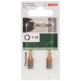 Bosch Titanium T csavarozóbit Torx T 15