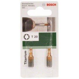 Bosch Titanium T csavarozóbit Torx T 20
