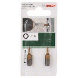 Bosch Titanium T csavarozóbit Torx T 8