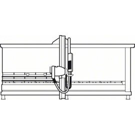 Bosch Top Precision Laminated Panel előkarcoló lap 100 x 22 x 2,8-3,6 mm, 12+12