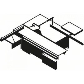 Bosch Top Precision Laminated Panel előkarcoló lap 120 x 20 x 2,8-3,6 mm, 12+12