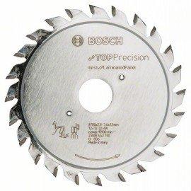 Bosch Top Precision Laminated Panel előkarcoló lap 120 x 22 x 2,8-3,6 mm, 12+12