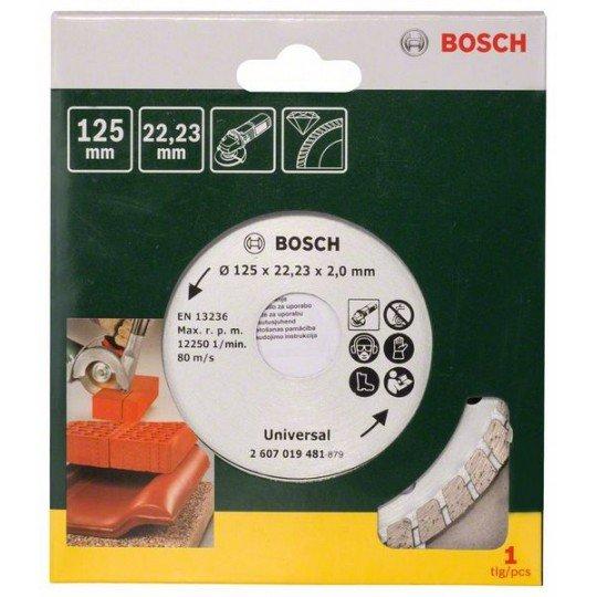 Bosch Turbo gyémánt vágótárcsa, Ø 125 mm