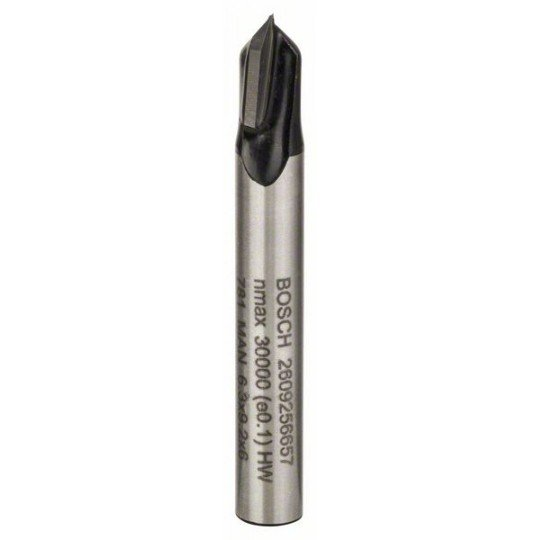 Bosch V-horonymarók 7 mm, D1 6,3 mm, L 9,2 mm, G 45 mm, 90°