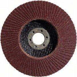 Bosch X431 legyező csiszolótárcsa, Standard for Metal 125 mm, 22,23 mm, 40