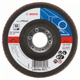 Bosch X551 fíber csiszolótárcsa D= 115 mm; G= 60, hajlított