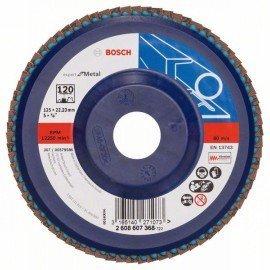 Bosch X551 fíber csiszolótárcsa D= 125 mm; G= 120, egyenes