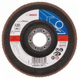 Bosch X551 fíber csiszolótárcsa D= 125 mm; G= 120, hajlított
