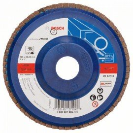 Bosch X551 fíber csiszolótárcsa D= 125 mm; G= 40, egyenes
