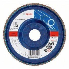 Bosch X551 fíber csiszolótárcsa D= 125 mm; G= 60, egyenes