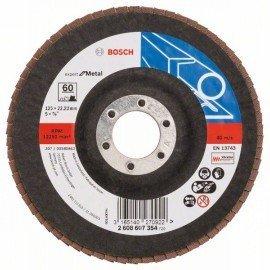 Bosch X551 fíber csiszolótárcsa D= 125 mm; G= 60, hajlított