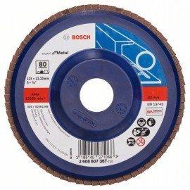 Bosch X551 fíber csiszolótárcsa D= 125 mm; G= 80, egyenes