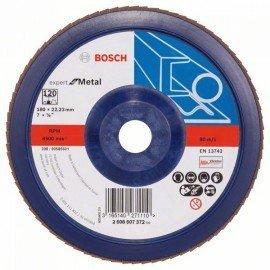 Bosch X551 fíber csiszolótárcsa D= 180 mm; G= 120, egyenes
