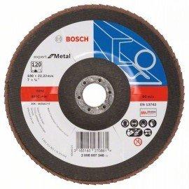 Bosch X551 fíber csiszolótárcsa D= 180 mm; G= 120, hajlított