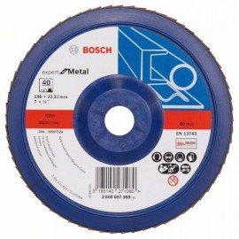 Bosch X551 fíber csiszolótárcsa D= 180 mm; G= 40, egyenes