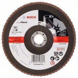 Bosch X551 fíber csiszolótárcsa D= 180 mm; G= 60, hajlított