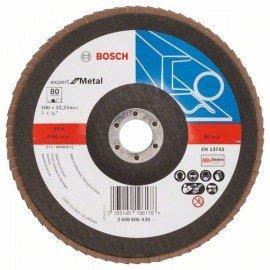 Bosch X551 fíber csiszolótárcsa D= 180 mm; G= 80, hajlított