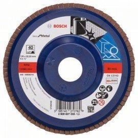 Bosch X571 fíber csiszolótárcsa, Best for Metal D= 115 mm; G= 60, egyenes